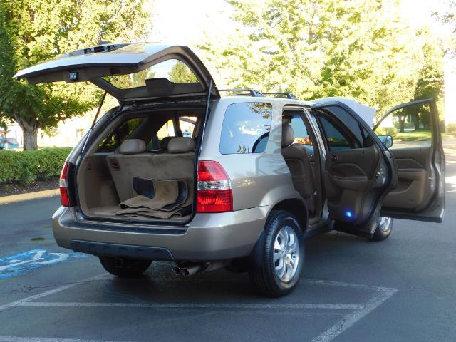 2003 Acura MDX Touring / AWD / 3RD Row Seats / DVD / MOON ROOF - Photo 34 - Portland, OR 97217