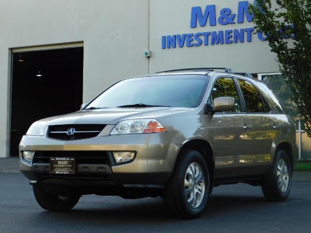 2003 Acura MDX Touring / AWD / 3RD Row Seats / DVD / MOON ROOF - Photo 39 - Portland, OR 97217
