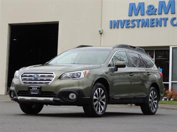 2016 Subaru Outback 2.5i Limited / Leather /BLIND SPOT / Backup camera Wagon
