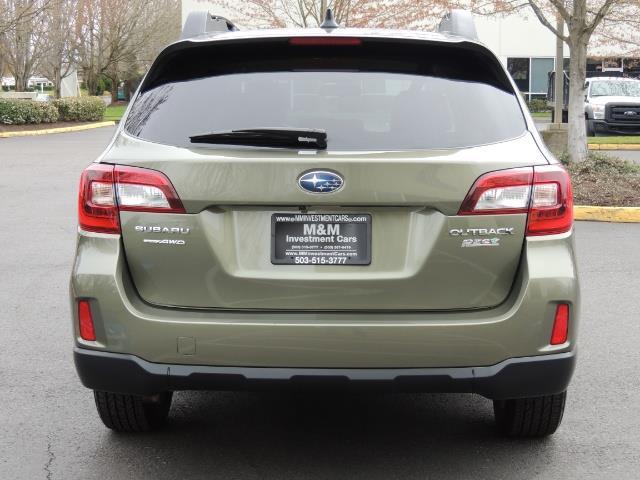 2016 Subaru Outback 2.5i Limited / Leather /BLIND SPOT / Backup camera - Photo 6 - Portland, OR 97217