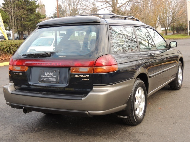 1999 subaru legacy outback wagon awd 5 speed manual. Black Bedroom Furniture Sets. Home Design Ideas