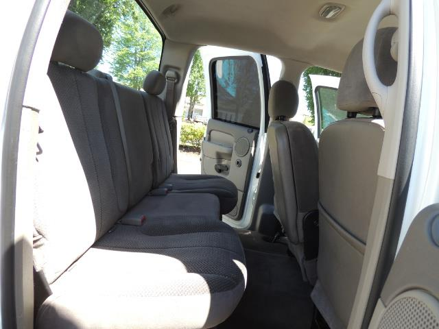 2005 Dodge Ram 2500 SLT 4dr Quad Cab SLT 4X4  5.9L DIESEL / 106K MiLES - Photo 16 - Portland, OR 97217