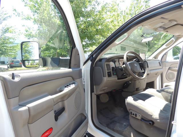 2005 Dodge Ram 2500 SLT 4dr Quad Cab SLT 4X4  5.9L DIESEL / 106K MiLES - Photo 13 - Portland, OR 97217