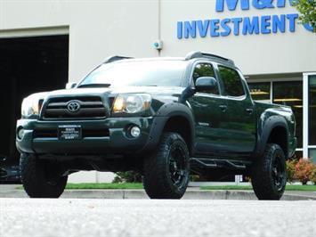 2009 Toyota Tacoma V6 4X4 DOUBLE CAB TRD 6-SPEED MANUAL LIFTED !! Truck