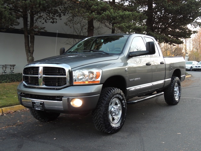 2006 dodge ram 2500 laramie 4x4 5 9l diesel leather lifted. Black Bedroom Furniture Sets. Home Design Ideas