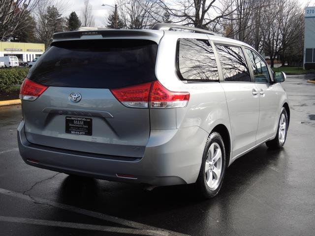 2014 toyota sienna le 8 passenger back up camera 1 owner. Black Bedroom Furniture Sets. Home Design Ideas