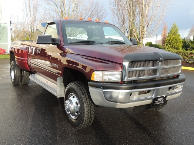 2001 Dodge Ram 3500 Dually    4x4    5 9 Cummins Diesel    6