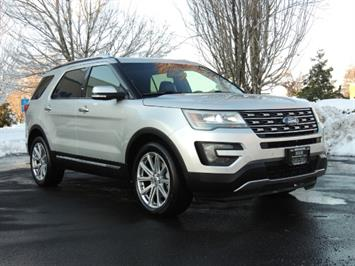 2016 Ford Explorer Limited / 4WD / Leather / 3rd seat SUV