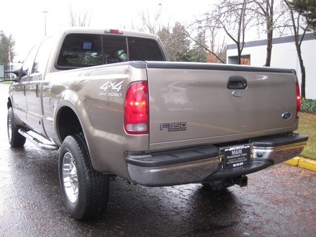 2002 Ford F-350 Crew Cab 4X4 LARIAT / 7.3L Turbo Diesel /LOW Miles - Photo 44 - Portland, OR 97217