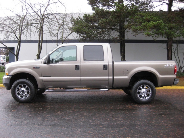 2002 ford f 350 crew cab 4x4 lariat 7 3l turbo diesel low miles. Black Bedroom Furniture Sets. Home Design Ideas