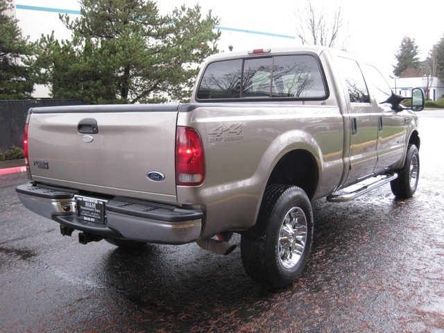 2002 Ford F-350 Crew Cab 4X4 LARIAT / 7.3L Turbo Diesel /LOW Miles - Photo 6 - Portland, OR 97217