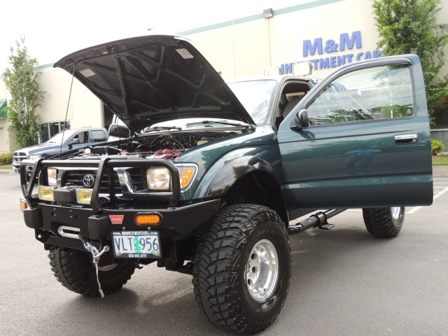 1996 Toyota Tacoma Sr5 4x4 5 Speed 1 Owner Lifted Lifted