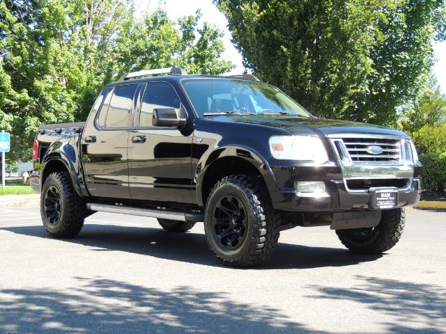 2007 Ford Explorer Sport Trac Limited 4dr Crew Cab 4X4 Leather Moon Roof LIFTED - Photo 2 - Portland, OR 97217