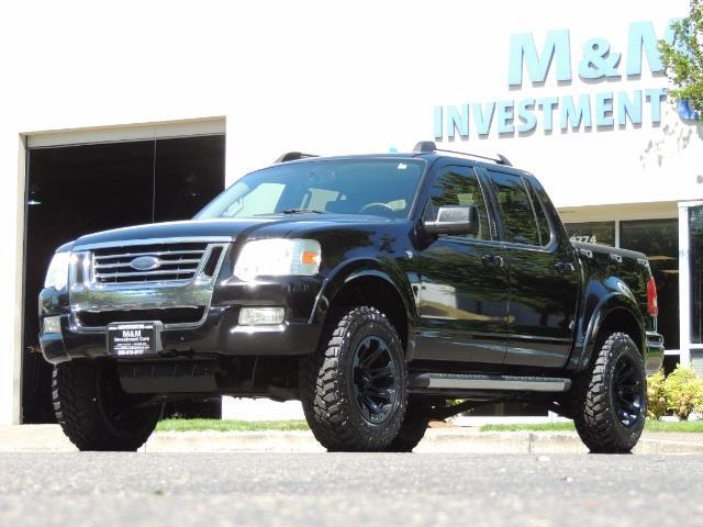 2007 Ford Explorer Sport Trac Limited 4dr Crew Cab 4X4 Leather Moon Roof LIFTED - Photo 1 - Portland, OR 97217