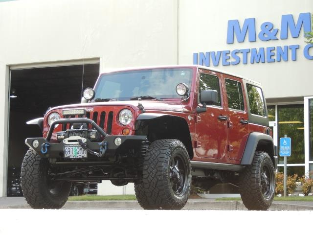 2011 Jeep Wrangler Unlimited Sport / 4X4 / 6-SPEED / LIFTED - Photo 43 - Portland, OR 97217