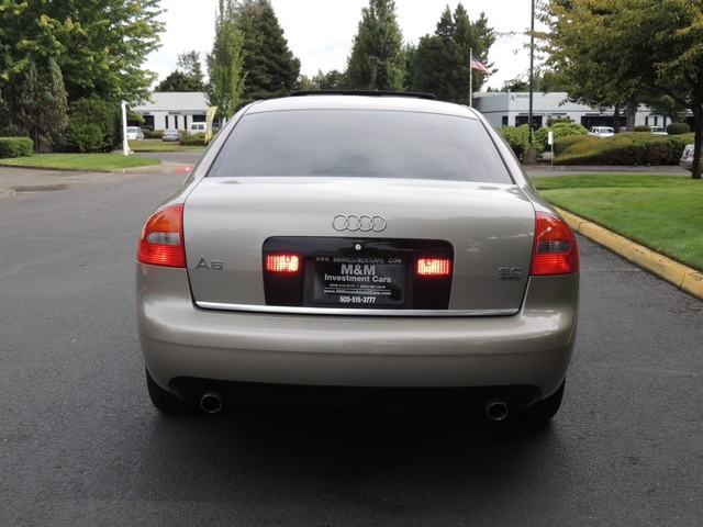 2003 Audi A6 3.0 quattro/ AWD/ Leather/ Excel Cond - Photo 6 - Portland, OR 97217