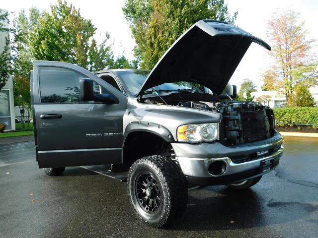2004 Dodge Ram 2500 Quad Cab / 4X4 5.9L CUMMINS Diesel MANUAL / LIFTED - Photo 28 - Portland, OR 97217