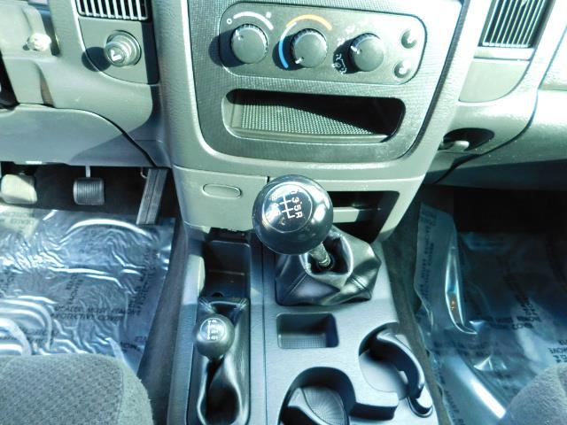 2004 Dodge Ram 2500 Quad Cab / 4X4 5.9L CUMMINS Diesel MANUAL / LIFTED - Photo 19 - Portland, OR 97217