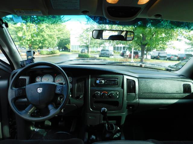 2004 Dodge Ram 2500 Quad Cab / 4X4 5.9L CUMMINS Diesel MANUAL / LIFTED - Photo 32 - Portland, OR 97217