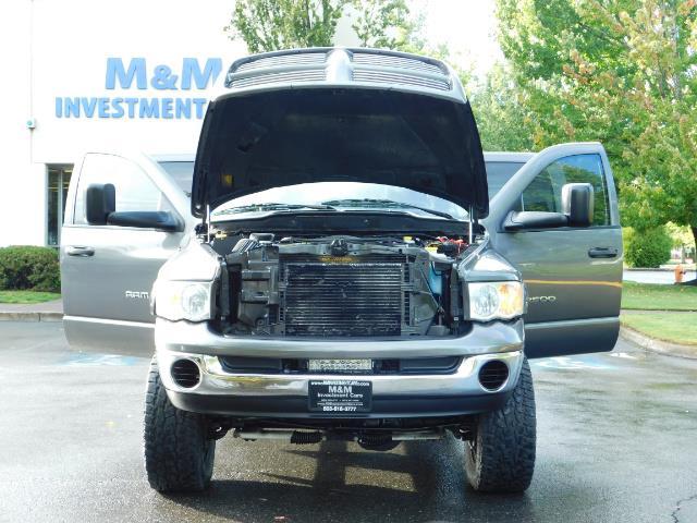 2004 Dodge Ram 2500 Quad Cab / 4X4 5.9L CUMMINS Diesel MANUAL / LIFTED - Photo 29 - Portland, OR 97217