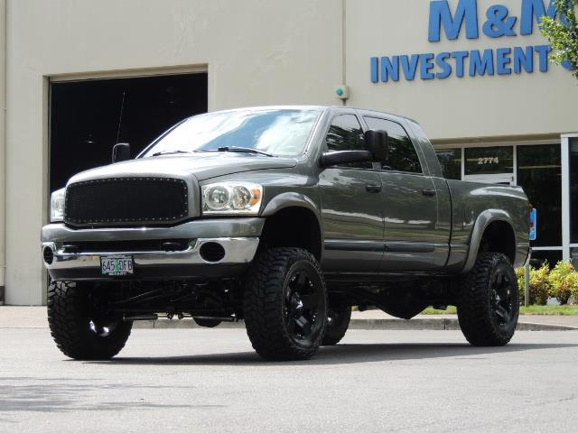 2007 Dodge Ram 2500 SLT 4dr Mega Cab / 4X4 /5.9L DIESEL /NAVI/ LIFTED - Photo 46 - Portland, OR 97217