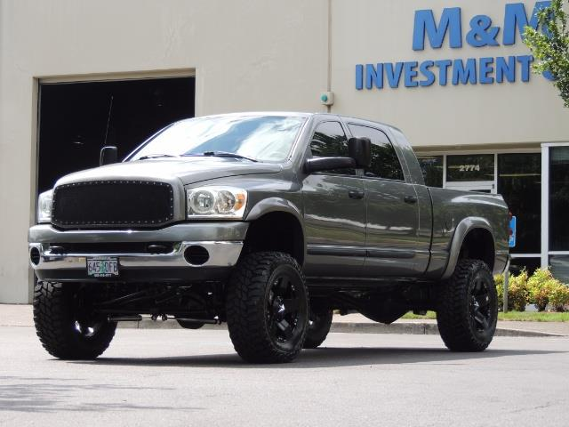 2007 Dodge Ram 2500 SLT 4dr Mega Cab / 4X4 /5.9L DIESEL /NAVI/ LIFTED - Photo 48 - Portland, OR 97217
