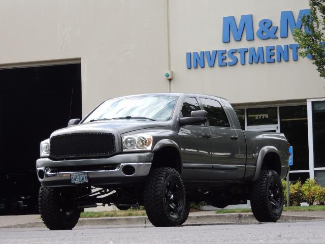 2007 Dodge Ram 2500 SLT 4dr Mega Cab / 4X4 /5.9L DIESEL /NAVI/ LIFTED - Photo 50 - Portland, OR 97217
