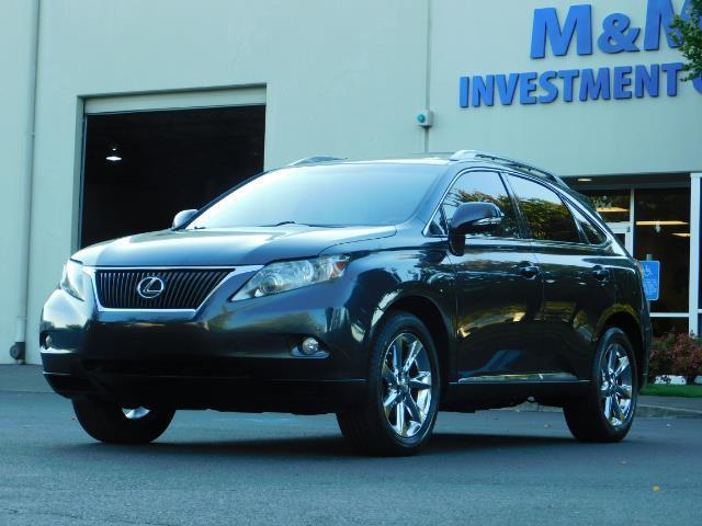 2011 Lexus RX 350 AWD NAVi / Rear Cam / Cooled Seats / LUXURY - Photo 1 - Portland, OR 97217