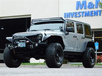 2015 Jeep Wrangler UNLIMITED RUBICON  4X4 / CUSTOM / 26K MLS / LIFTED SUV