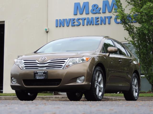 2010 Toyota Venza AWD V6 Wagon / LEATHER / Panoramic Roof / Records - Photo 46 - Portland, OR 97217
