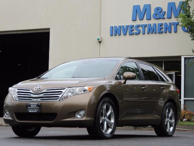 2010 Toyota Venza AWD V6 Wagon / LEATHER / Panoramic Roof / Records - Photo 44 - Portland, OR 97217