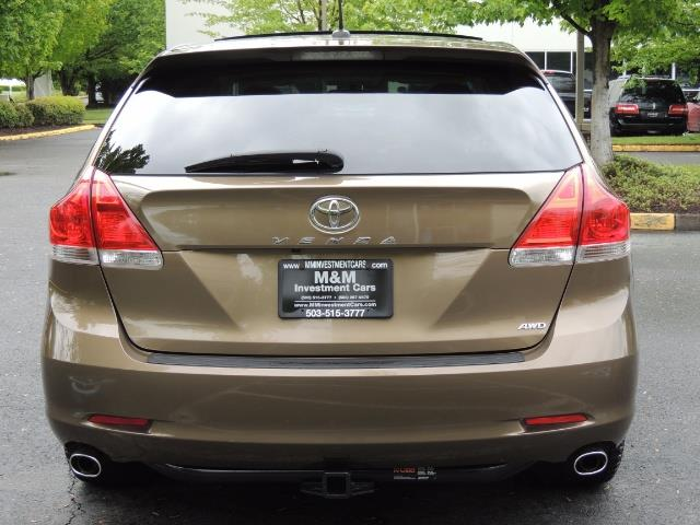 2010 Toyota Venza AWD V6 Wagon / LEATHER / Panoramic Roof / Records - Photo 6 - Portland, OR 97217