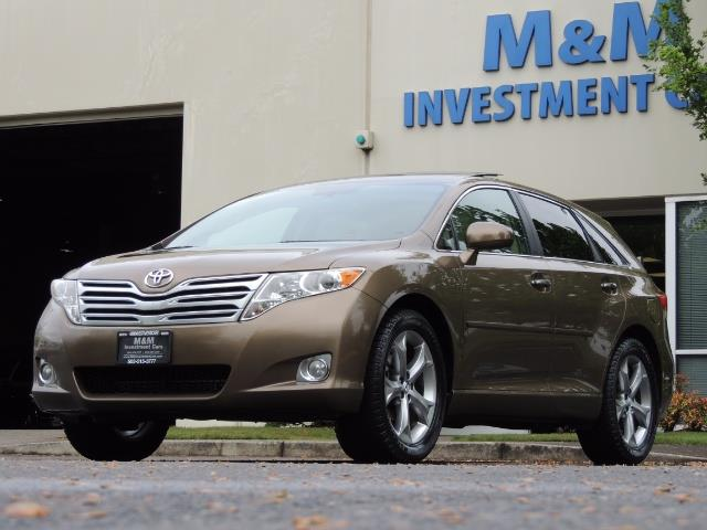 2010 Toyota Venza AWD V6 Wagon / LEATHER / Panoramic Roof / Records - Photo 45 - Portland, OR 97217
