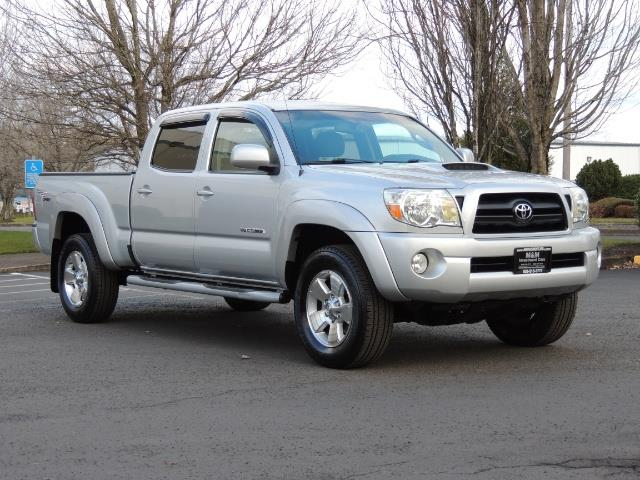 used 2007 toyota tacoma v6 double cab 4wd long bed trd package for sale in portland or. Black Bedroom Furniture Sets. Home Design Ideas