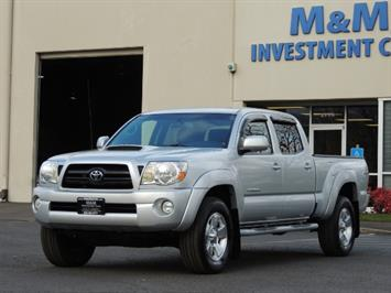 2007 Toyota Tacoma V6 Double Cab / 4WD / LONG BED / TRD Package Truck