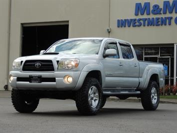 2007 Toyota Tacoma V6 Double Cab / 4WD / LONG BED / TRD / LIFTED !! Truck