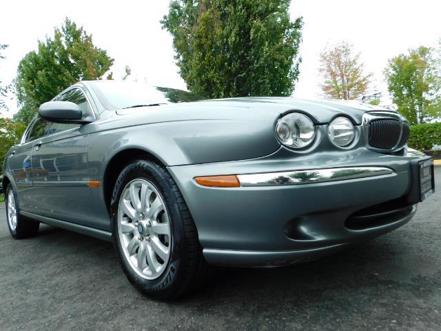 2003 Jaguar X-Type 2.5 / Sedan / AWD / Leather / Sunroof / EXCL COND - Photo 10 - Portland, OR 97217