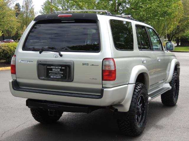 2000 Toyota 4Runner SPORT SR5 / 4X4 / Sunroof / LIFTED LIFTED - Photo 8 - Portland, OR 97217