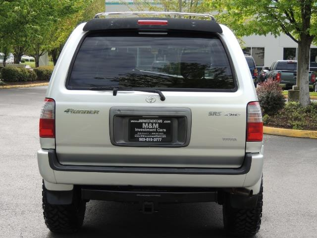 2000 Toyota 4Runner SPORT SR5 / 4X4 / Sunroof / LIFTED LIFTED - Photo 6 - Portland, OR 97217