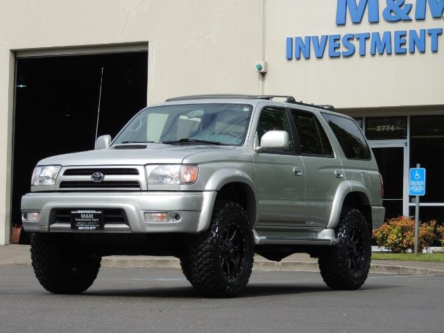 2000 Toyota 4Runner SPORT SR5 / 4X4 / Sunroof / LIFTED LIFTED - Photo 49 - Portland, OR 97217