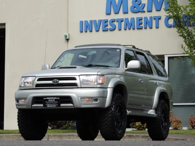 2000 Toyota 4Runner SPORT SR5 / 4X4 / Sunroof / LIFTED LIFTED - Photo 52 - Portland, OR 97217