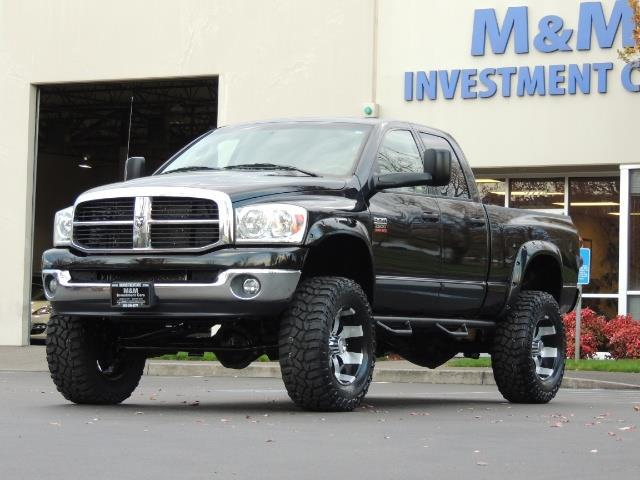 used 2007 dodge ram 2500 slt 4x4 5 9l cummins diesel lifted 88k miles for sale in portland. Black Bedroom Furniture Sets. Home Design Ideas