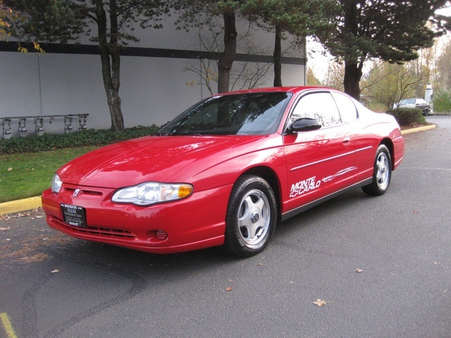 2003 chevrolet monte carlo ls coupe v6 automatic clean title runs great. Black Bedroom Furniture Sets. Home Design Ideas
