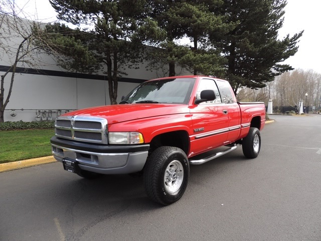 1998 dodge ram 2500 laramie slt 4x4 5 9l diesel leather 91k miles. Black Bedroom Furniture Sets. Home Design Ideas