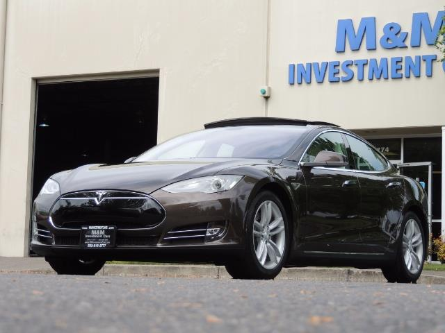2013 Tesla Model S Signature 85kWh / Panorama Roof / Navigation / - Photo 44 - Portland, OR 97217