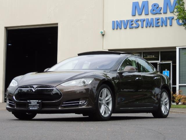 2013 Tesla Model S Signature 85kWh / Panorama Roof / Navigation / - Photo 48 - Portland, OR 97217