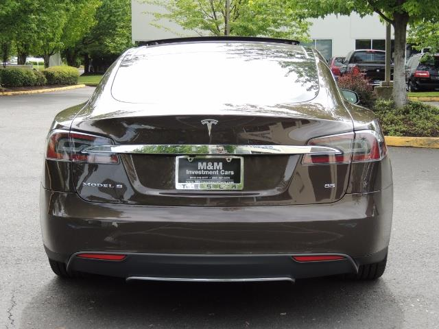 2013 Tesla Model S Signature 85kWh / Panorama Roof / Navigation / - Photo 6 - Portland, OR 97217