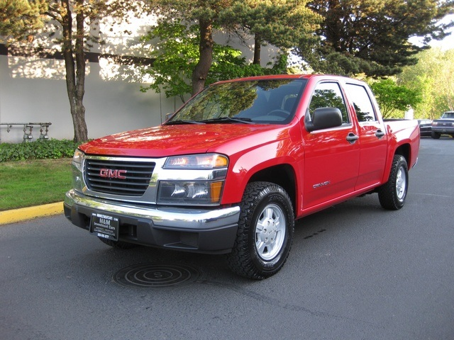 2004 gmc canyon z85 sle crew cab 5 cyl auto. Black Bedroom Furniture Sets. Home Design Ideas