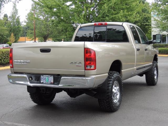 2003 Dodge Ram 2500 SLT 4dr / 4X4 / 5.9L Cummins Diesel High OutPut - Photo 8 - Portland, OR 97217