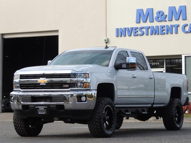2015 chevrolet silverado 3500 ltz 4x4 duramax diesel allison trans lifted. Black Bedroom Furniture Sets. Home Design Ideas